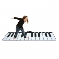 Black&White Gigantic Keyboard Playmat AOM8825