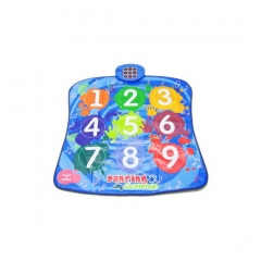 Numbers Dancing Challenge Playmat