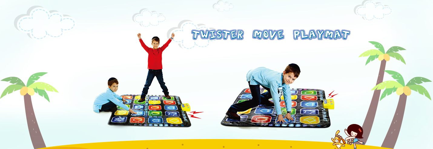 Twist And Move Game Playmat